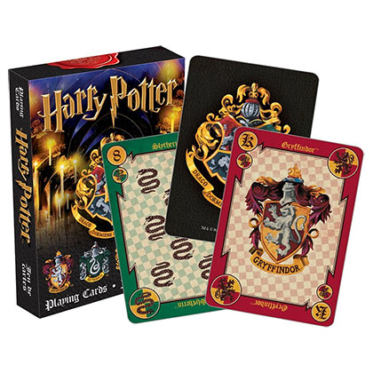 Jeu de Cartes Harry Potter - Poudlard