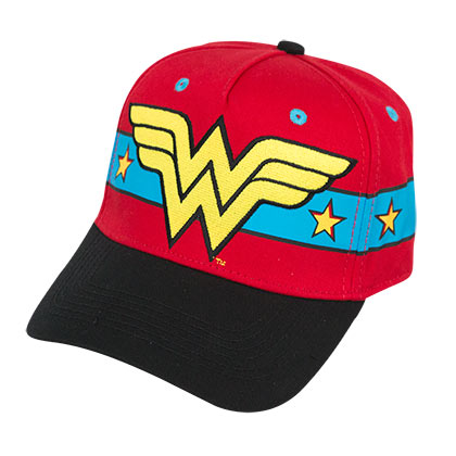 Casquette Wonder Woman - 3D Logo