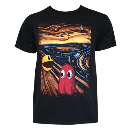 T-shirt Pac-Man - Horror Art