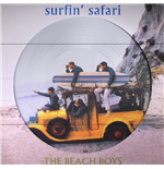 Vinyle Beach Boys - Surfin Safari + Candix Recordings (Picture Disc)
