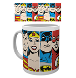 Tasse DC Comics Superheroes - Faces