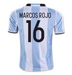 Maillot de Football Argentine Home 2016-2017 (Marcos Rojo 16)