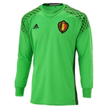 Maillot Gardien de But Belgique Adidas Home 2016-2017