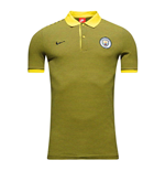 Polo Manchester City FC Nike Authentic Grand Slam 2016-2017 (Opti Jaune)