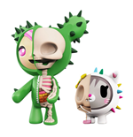 Tokidoki pack 2 figurines XXRAY Sandy & Carina 5-10 cm