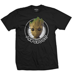 T-shirt Marvel Comics: Guardians of the Galaxy Vol. 2 Groot Circular
