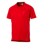 T-shirt Ferrari Puma Small Shield (Rosso Corsa)