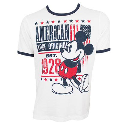 T-shirt Mickey Mouse - American