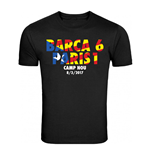 T-shirt FC Barcelone 6-1 Paris Saint-Germain (Noir)