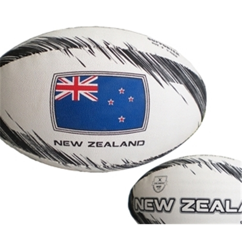 Ballon de Rugby All Blacks Nouvelle-Zélande