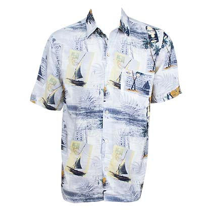 Chemise Hawaïenne Corona Extra - Coast With The Most Aloha