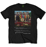 T-shirt The Beatles - Sgt Pepper 8 Track