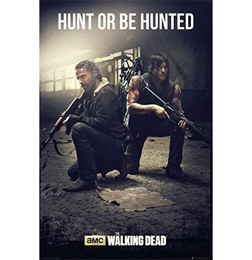 Poster The Walking Dead - Hunt (61x91,5 Cm)