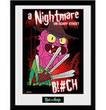 Poster Encadré Rick and Morty - Scary Terry