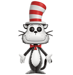 Dr. Seuss POP! Books Vinyl figurine Cat in the Hat (Flocked) 9 cm