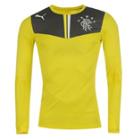 Maillot Manches Longues Rangers Football Club 2013-2014 Home (Jaune)