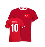 T-shirt Turquie Football (Rouge)