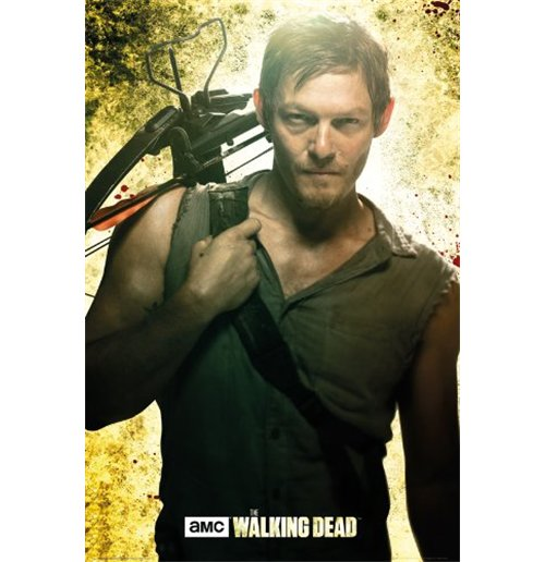 Poster The Walking Dead - Daryl (61x91,5 Cm)