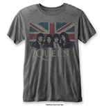 T-shirt Queen: Vintage Union Jack