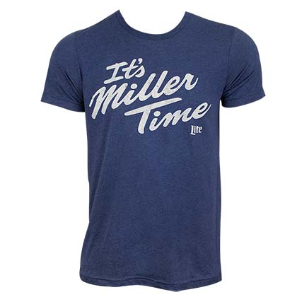 T-shirt Miller Lite - It's Miller Time