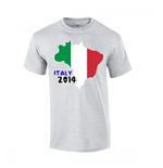 T-shirt Italie Football (Gris)