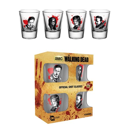 Verre à Shot The Walking Dead - Personnages