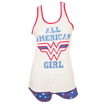 Pyjama Wonder Woman - All American Girl