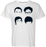 T-shirt Big Bang Theory - Faces