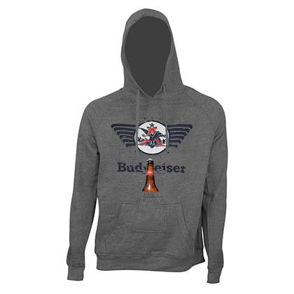 Sweat à Capuche Budweiser - Eagle Logo