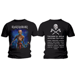 T-shirt Iron Maiden: Axe Eddie Book of Souls European Tour (Version 2)