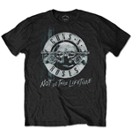 T-shirt Guns N' Roses: Not in this Lifetime Tour Xerox