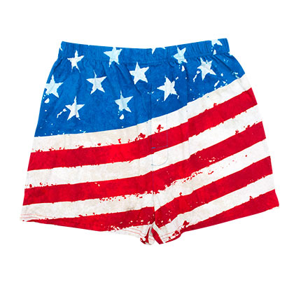 Boxer USA Drapeau Patriotique