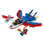 LEGO® Marvel Super Heroes™ Avengers La poursuite en avion de Captain America