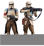Star Wars Rogue One pack 2 statuettes PVC ARTFX+ Scarif Stormtrooper 18 cm