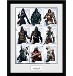 Image Encadrée Assassin's Creed - Compilation Characters