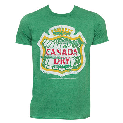 T-shirt Canada Dry pour homme