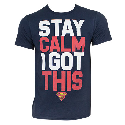T-shirt Superman - Stay Calm