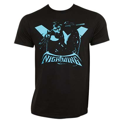 T-shirt Nightwing - Silhouette