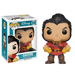 La Belle et la Bête Figurine POP! Disney Vinyl Gaston 9 cm