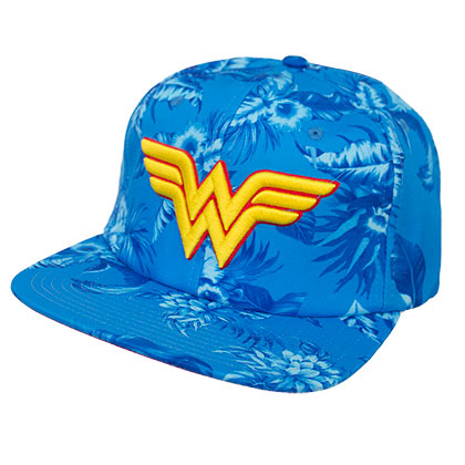 Casquette Wonder Woman - Floral