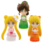 Sailor Moon assortiment figurines 6 cm Clear Colored Sparkle Dress Collection Vol. 2 (25)