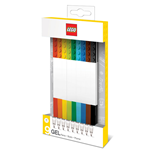 LEGO pack 9 stylos à bille à encre gel Bricks