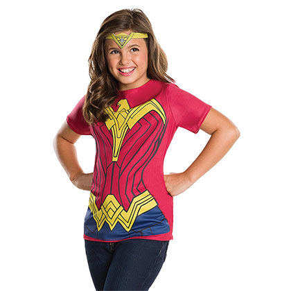 T-shirt Wonder Woman - Costume