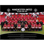 Poster Manchester United - Team Photo 2016/2017