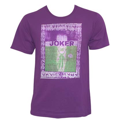 T-shirt Joker - Embroidered Frame