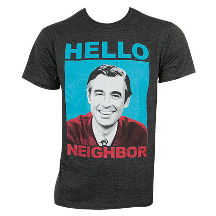 T-shirt Mister Rogers' Neighborhood pour homme