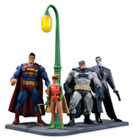 Batman The Dark Knight Returns pack figurines 30th Anniversary 15 cm