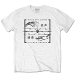 T-shirt While She Sleeps pour homme - Design: Silence Speaks