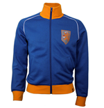 Sweat-shirt Rétro Hollande Football (bleue)