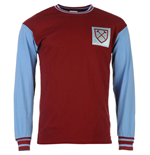 Maillot Manches Longues West Ham United FC Score Draw 1966